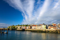 French coast village Dieppe Stock Photography