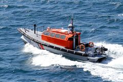 French coastguard Royalty Free Stock Photos