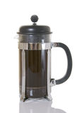 French Coffee Press Stock Image