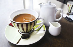 French coffee on table Royalty Free Stock Photography