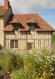 French Colombage House Royalty Free Stock Image