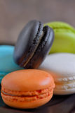 French colorful macarons Stock Photo