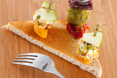 French coloured aperitif Stock Image