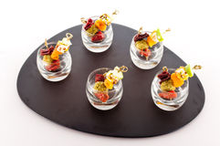 French coloured aperitif Royalty Free Stock Images