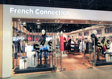 French Connection shop in Hong Kong Royalty Free Stock Image
