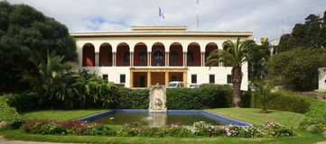 French Consulate in Tangier, Morocco Royalty Free Stock Photos