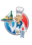 French_cook 免版税图库摄影