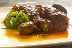 French Coq Au Vin Chicken Stock Image