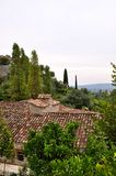 French cottage in Saint-Paul-de-Vence Stock Photography
