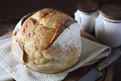 French country bread Royalty Free Stock Photo