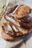 French country bread Stock Image