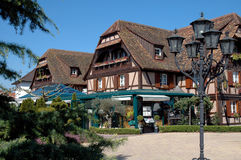 French Country Inn. Country inn in the Alsace region of France Stock Photography