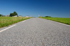 French country road Royalty Free Stock Photography