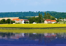 French countryside Royalty Free Stock Photography