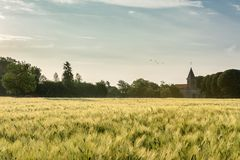 French countryside - Lorraine royalty free stock photography