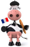French cow Stock Photography