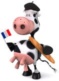French cow Royalty Free Stock Photography