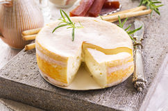 French Cremoulin Cheese Stock Image