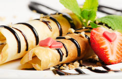 French crepes stock images
