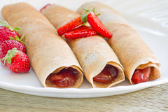 French crepes Royalty Free Stock Images