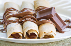 French crepes Royalty Free Stock Photography