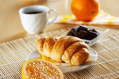 French croissant Stock Photos