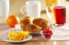 Free French Croissant Royalty Free Stock Image - 7435696