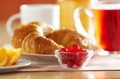 French croissant Royalty Free Stock Images