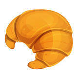 French Croissant Icon Stock Photography