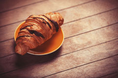 French croissant Stock Image