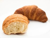 French croissants Royalty Free Stock Photo