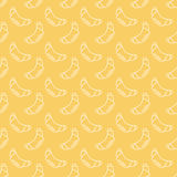 French croissants pattern Stock Photo