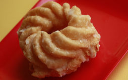 French Cruller Donut Stock Images
