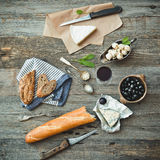 French cuisine Royalty Free Stock Photos