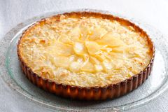 French cuisine pie with apricots Stock Images