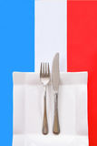 French cuisine \ Restaurant menu Stock Image