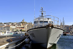 French customs boat Stock Photography