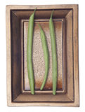 French Cut Green String Beans Royalty Free Stock Image
