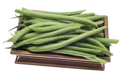 French Cut Green String Beans Stock Photo