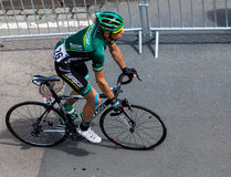 The French Cyclist Jerome Vincent Stock Photography
