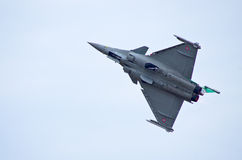 French Dassault Rafale fighter on Radom Airshow, Poland Royalty Free Stock Photos