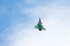 French Dassault Rafale fighter on Radom Airshow, Poland Royalty Free Stock Image