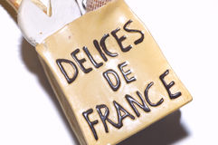 French delices Stock Images