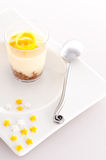 French dessert in a glass Royalty Free Stock Photography