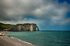 French destination in Normandy, Etretat Stock Photo