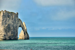 French destination in Normandy, Etretat Stock Photos
