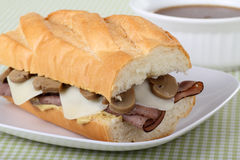 French Dip Royalty Free Stock Photo