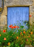 French door frame stock images