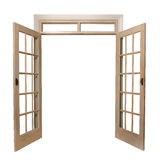 French doors Royalty Free Stock Photos