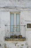 French doors in the old city Stock Photo